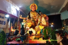 Statue of Attukalamma made during Ponkala Festival