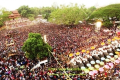 Thrissur Pooram Kudamattam - Grand Shot