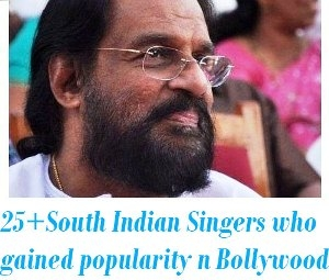 south indian singers in bollywood
