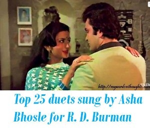 duets sung by Asha Bhosle for R. D. Burman