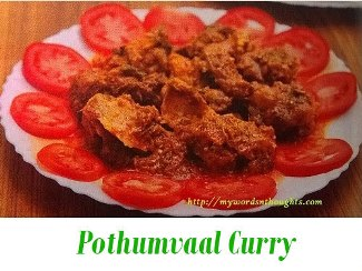 Beef tail Curry