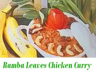 Ramba Leaves Chicken Curry