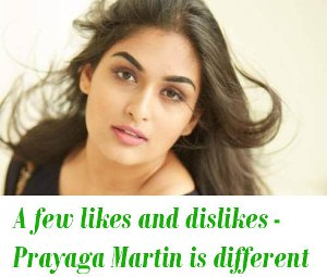 Prayaga Martin interview