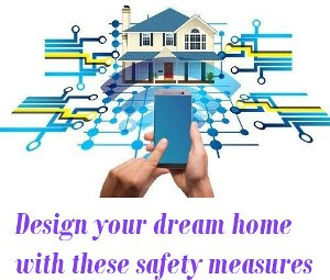 home with safety measures