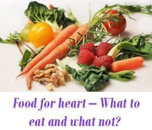 Food for heart diseases