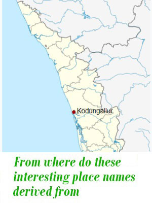 interesting place names of kerala