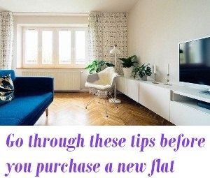 before you purchase a new flat