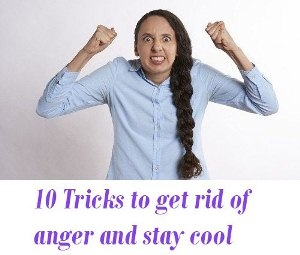 How to get rid of anger