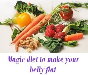 reduce  belly flat