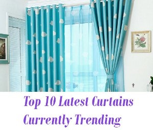 Latest Curtains Currently Trending