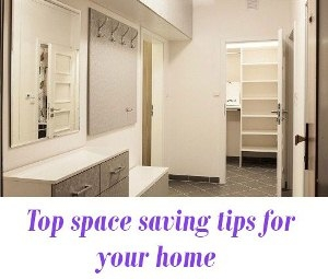 Top space saving tips for your home