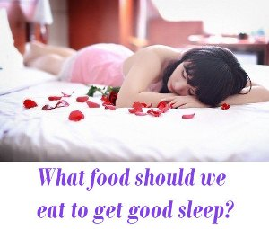 food for sleep