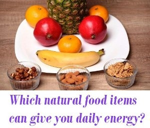 natural food items