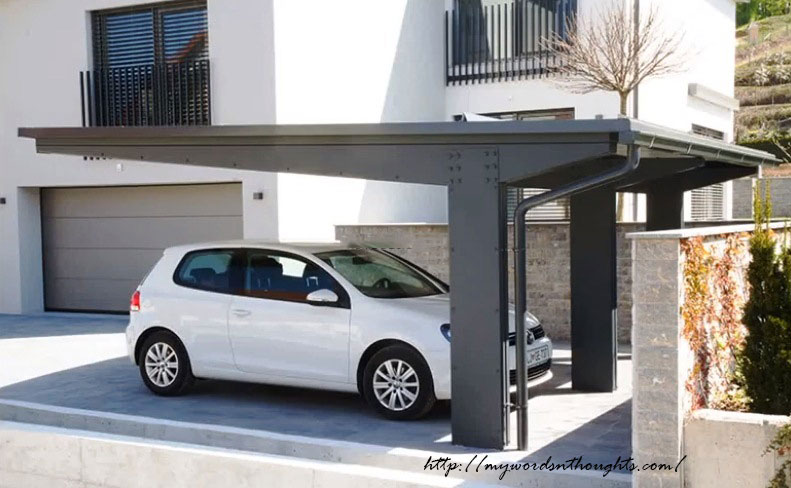 Car Porch Latest Innovations In Exterior Designs My Words Thoughts
