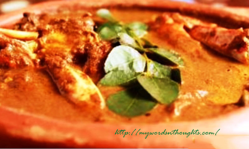Street Food Style Crab Curry Shaap Style Njandu Curry My Words Thoughts